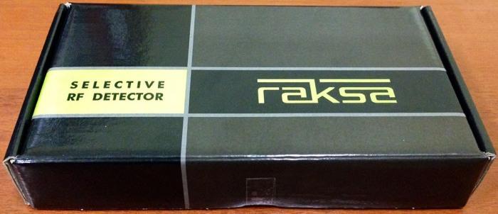 """Упаковка индикатора поля """"Raksa Select-120"""""""