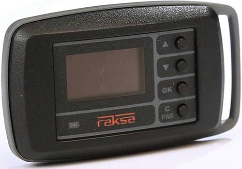 """Индикатор """"Raksa Select-120"""" имеет строгое оформление — на его лицевой панели нет ничего лишнего"""