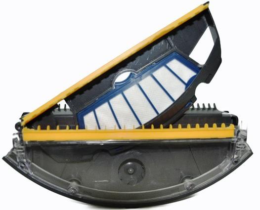 Фильтр легко снимается для очистки от пыли