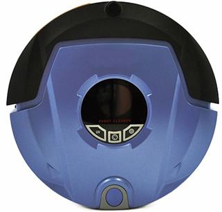 """Робот-пылесос """"310B""""  в корпусе синего цвета"""