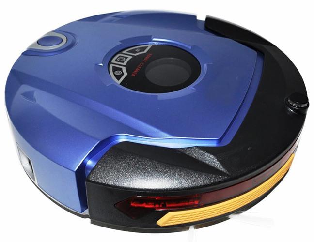 В  бампере  расположены датчики, защищающие робот-пылесос