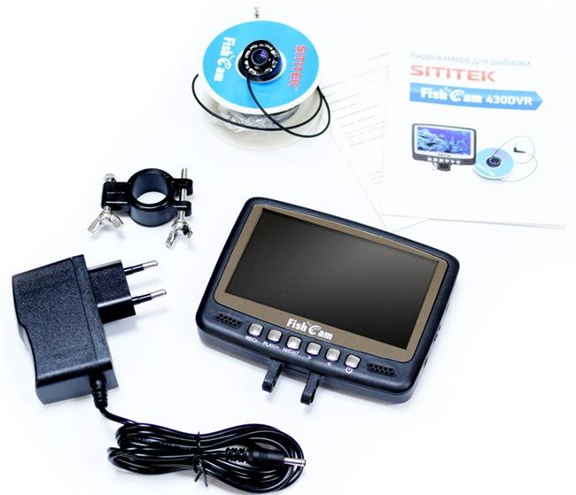 Стандартный комплект поставки рыболовной видеокамеры