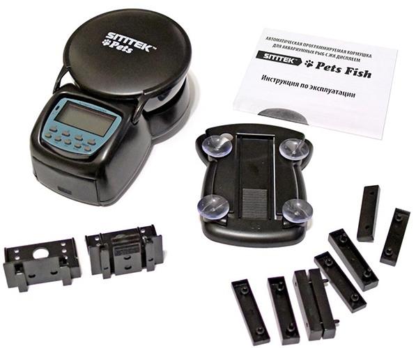 В комплекте с автокормушкой SITITEK Pets Fish идет все необходимое