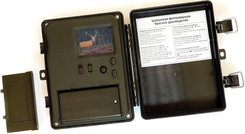 Аккумуляторный отсек расположен на задней панели устройства (увеличение по нажатию)