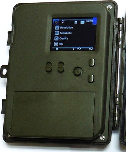 Аппарат оснащен цветным TFT-экраном диагональю 2,5 дюйма
