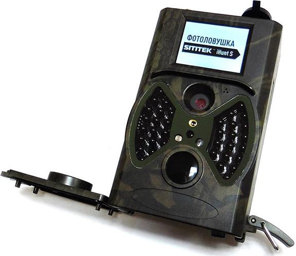 """Фотоловушка оборудована цветным ЖК-дисплеем размером 2"""" по диагонали (увеличение по нажатию)"""