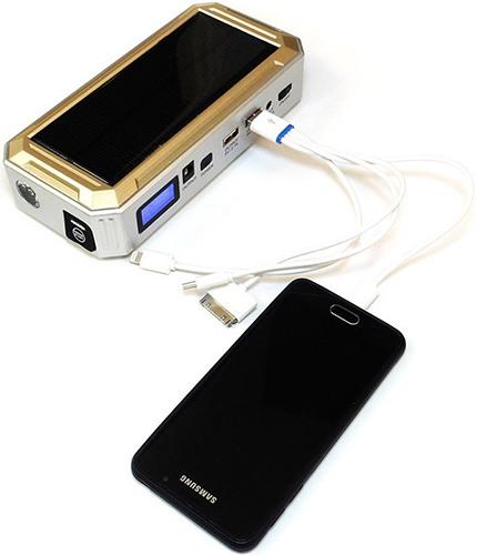 С помощью прибора можно заряжать батареи смартфонов и многих других устройств (увеличение по нажатию)