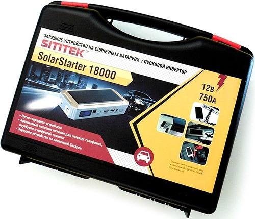 Пуско-зарядное устройство со всеми аксессуарами поставляется в удобном чемоданчике (увеличение по нажатию)