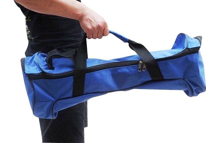 Форма сумки точно повторяет обводы гироскутера