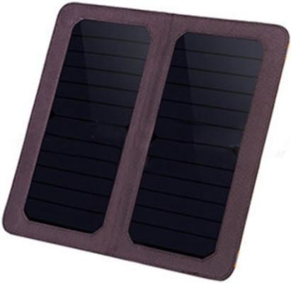 Портативная солнечная панель с двумя фотоэлементами