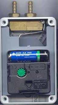 Питание от батарейки