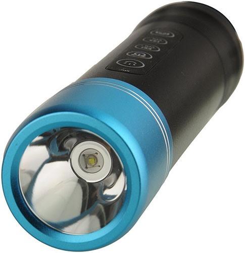 """Фонарь прибора работает на ярком светодиоде """"XPE R3"""" от известного производителя """"Cree"""" (нажмите на фото, чтобы увеличить)"""