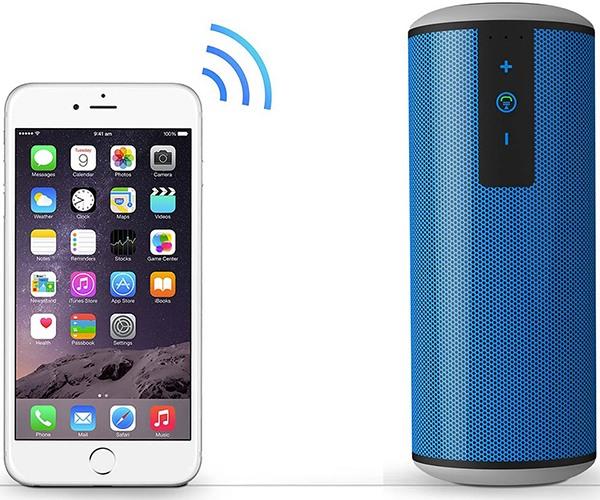 Аппарат легко соединяется с мобильными устройствами и MP3-плеерами по протоколу Bluetooth 4.0 (нажмите на фото, чтобы увеличить)