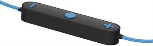 Гарнитура управляется посредством пульта с тремя кнопками