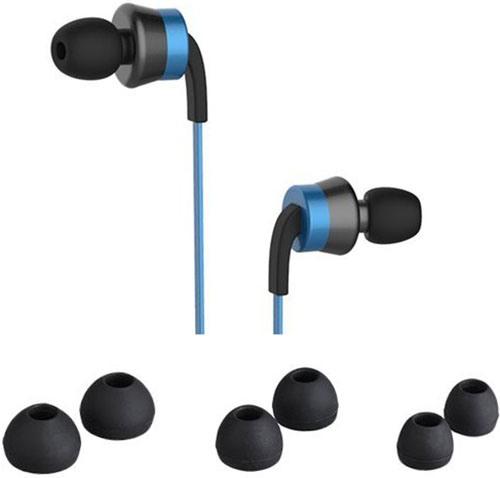 Вы можете подобрать размер вкладышей так, чтобы они сидели в ушах максимально плотно, либо обеспечивали небольшой зазор для контроля пользователем окружающей звуковой обстановки