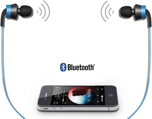 Наушники легко синхронизируются со смартфонами, планшетами и MP3-плеерами по протоколу Bluetooth 4.0 (нажмите на фото, чтобы увеличить)