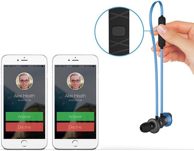 """Наушники """"Trendwoo Runner X9"""" способны держать связь сразу с двумя смартфонами (нажмите на фото, чтобы увеличить)"""