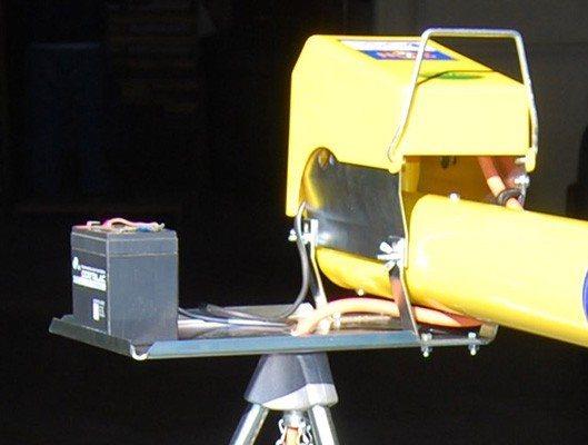 Площадка для размещения аккумуляторной батареи