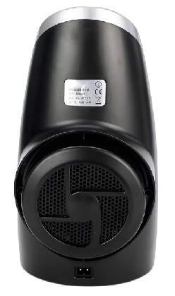 Для охлаждения вина используется элемент Пельтье, обдуваемый бесшумным вентилятором