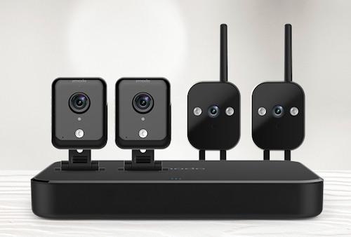 """Видеокомплект """"Zmodo Офис 2"""" укомплектован четырьмя видеокамерами"""