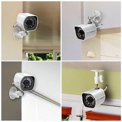 """Камеры видеокомплекта """"Zmodo PoE Профи"""" имеют FULL HD 1080р разрешение, что обеспечивает прекрасное качество снимаемого видео"""
