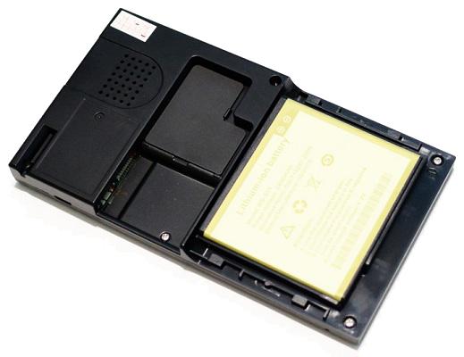 """Задняя панель монитора видеоглазка """"SITITEK Safebox"""" (нажмите на фото для увеличения)"""