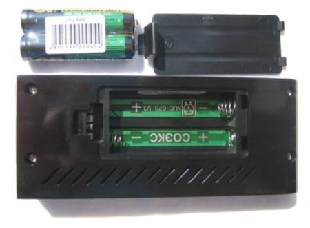 Отсек для батареек или аккумуляторов