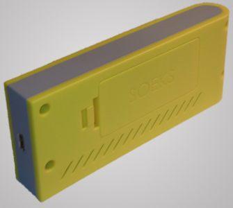 """miniUSB-порт  дозиметра  СОЭКС 01M """"Defender"""" располагается на нижней стороне устройства и предназначен для подзарядки"""