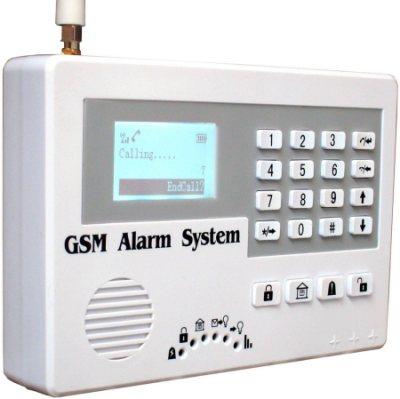 Контрольная панель GSM-сигнализации