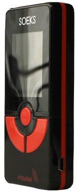 miniUSB-порт для зарядки детектора электромагнитного поля Импульс расположен на правой торцевой части корпуса