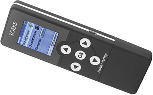 """В правую боковую панель нитратомера """"СОЭКС"""" встроен порт USB для связи аппарата с компьютером (нажмите на изображение, чтобы увеличить)"""