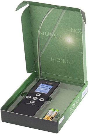 Нитратомер SOEKS NUC-019-2 поставляется покупателям в стильной упаковке