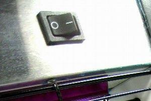 """Тумблер для включения/выключения уничтожителя комаров """"Ангара-130 LED"""""""