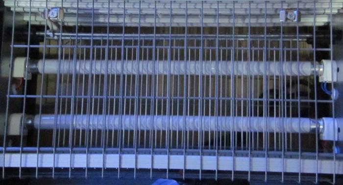 """Доступ к лампам и высоковольтным элементам уничтожителя комаров """"Ангара-2 10Вт"""" закрыт решеткой"""