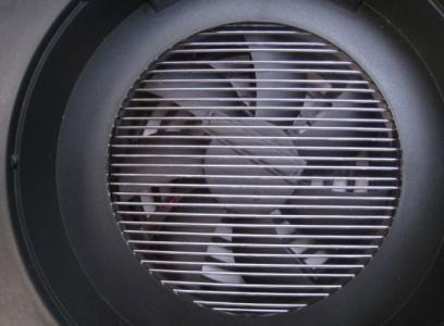 Вентилятор в ;Ангара-40 создает поток, затягивающий комаров внутрь