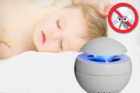 """Уничтожитель комаров """"Aroma"""" подходит даже для защиты маленьких детей"""