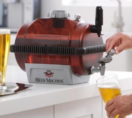 С домашней пивоварней Вы сами можете приготовить свежий пенный напиток прямо в своей квартире!