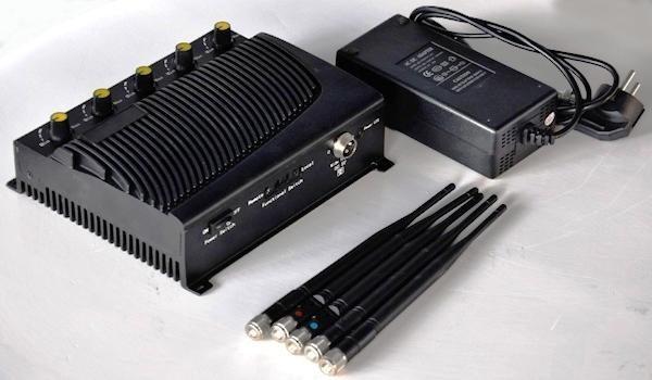 Комплектация стационарного подавителя сотовых телефонов CDMA, GSM, 3G, 4G СТРАЖ Х5 ПРО