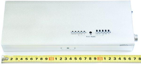 """Стационарный подавитель связи CDMA, GSM, 3G """"BlackHunter X5"""" достаточно компактен для устройства с такими возможностями"""