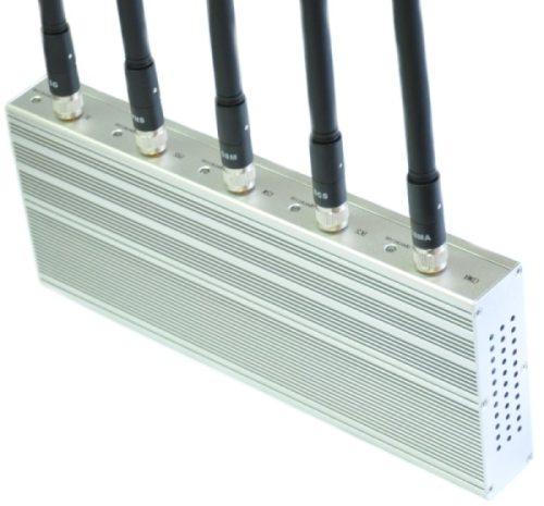 Для отдельного контроля каждого рабочего диапазона рядом с антеннами в подавителе связи CDMA, GSM, 3G
