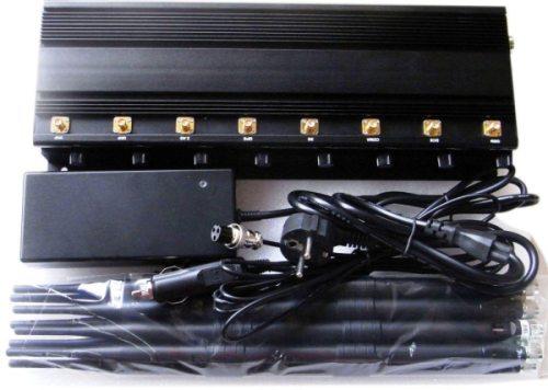 Комплектация подавителя связи BlackHunter X8 ПРО