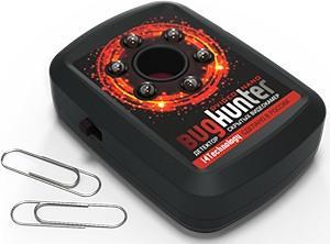 """Оцените миниатюрность детектора видеокамер """"BugHunter Dvideo Nano"""""""