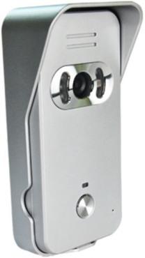 """Наружная панель беспроводного видеодомофона """"DP-439"""" имеет защитный козырек и пылевлагонепроницаемый корпус"""