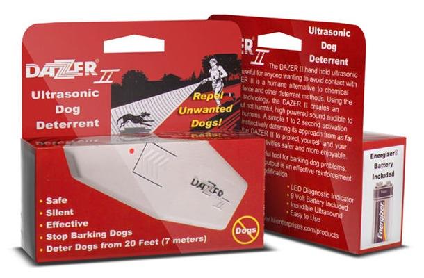 """Упаковка, в которой поставляется отпугиватель собак """"Dazer II"""""""