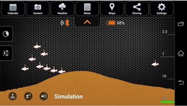 """Эхолот """"Deeper Smart Fishfinder"""" позволяет получать максимальное представление о происходящем под водой"""