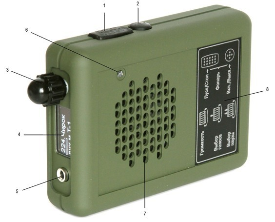 Устройство электронного манка на лося Егерь-5М
