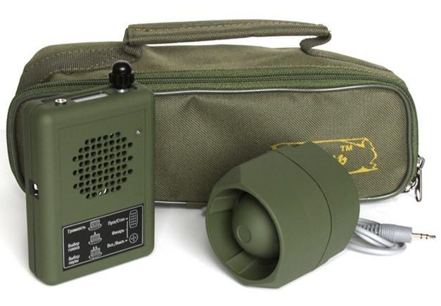 """Электронный манок """"Егерь-5М"""" с переносной сумкой и выносным динамиком (приобретается отдельно)"""