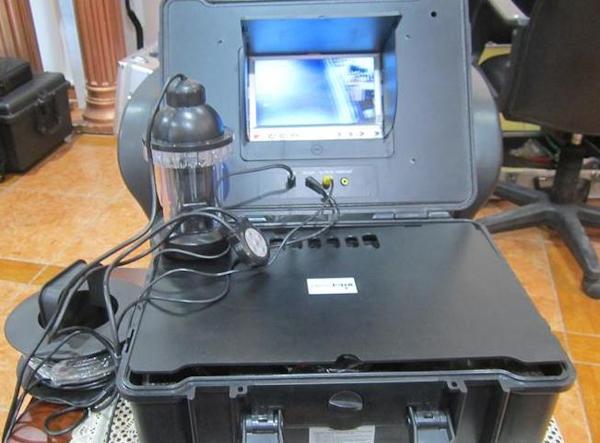 С видеокамерой для рыбалки FishCam-360 ловить рыбу