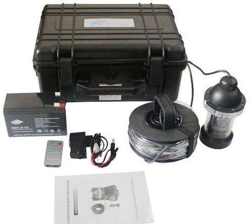 Видеокамера для рыбалки FishCam-360 укомплектована всем необходимым