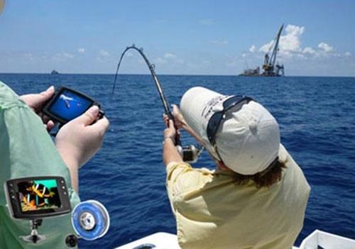 """Рыболовная видеокамера """"FishCam-501"""" пригодится как рыболовам, так и исследователям подводных глубин"""